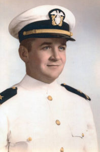 richard robertson in the navy